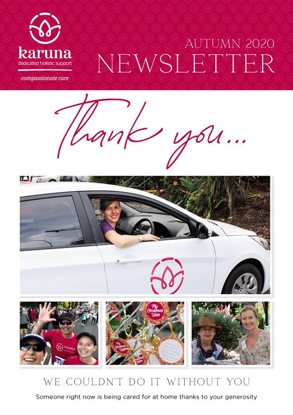 Karuna Autumn Newsletter 2020