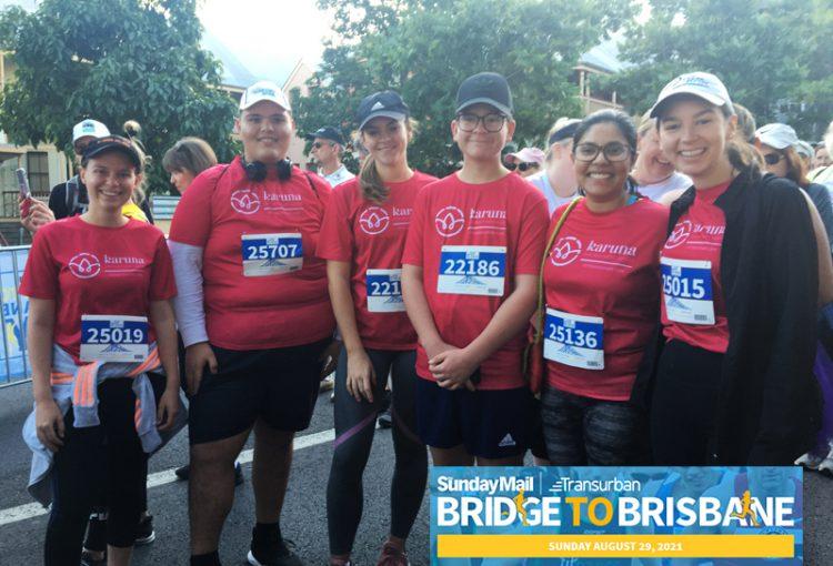 Team Karuna in Bridge to Brisbane